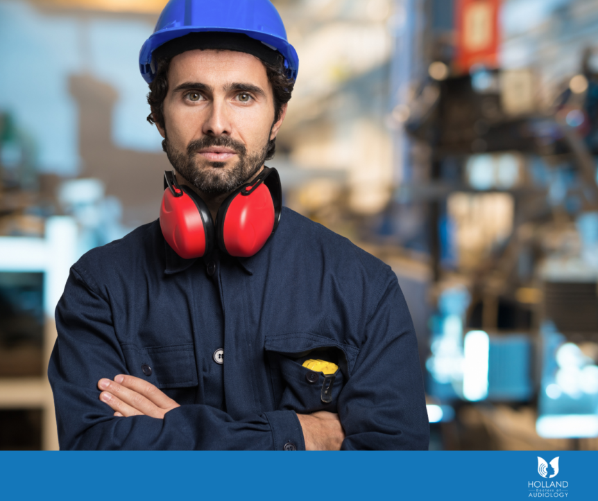 workers compensation for hearing loss and tinnitus in Holland MI
